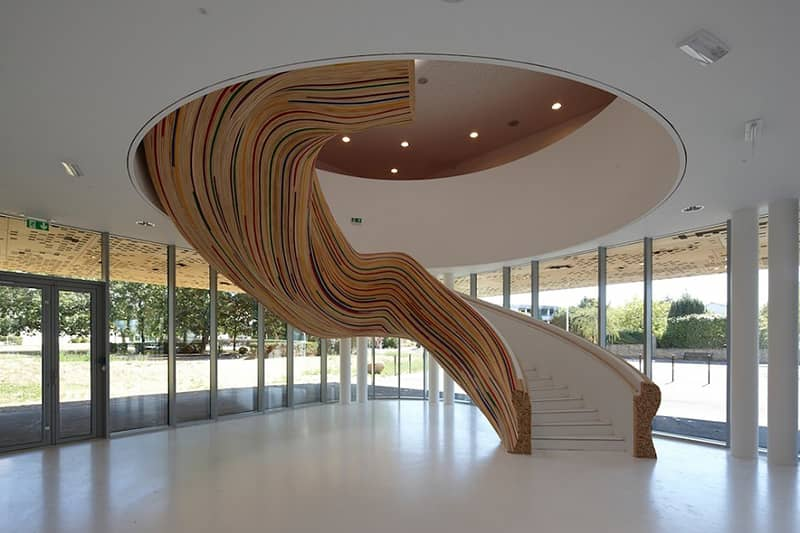 Stairs at The School of Arts – Tétrarc Architects