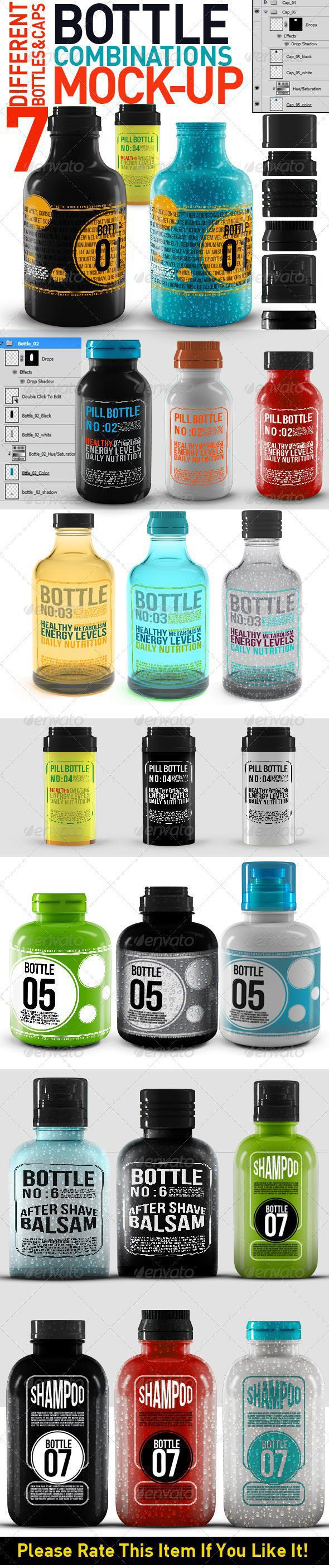 Bottle Combinations Mock Up