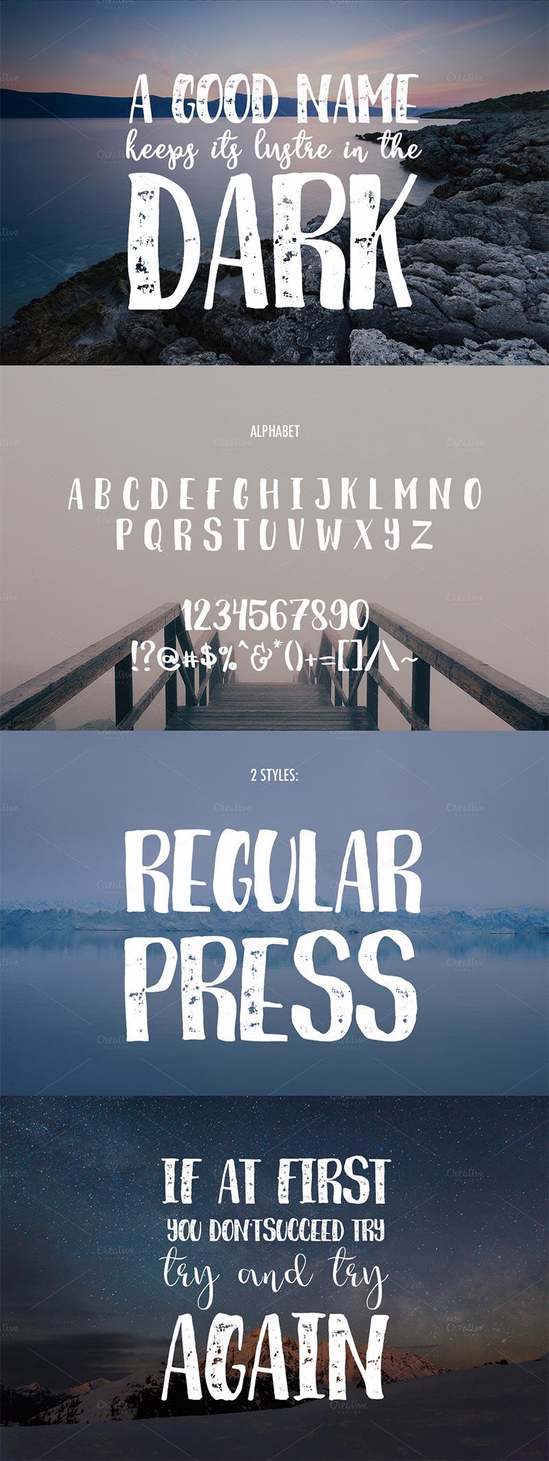 Breathe Font
