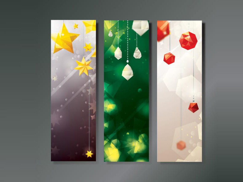 Christmas Decoration Banners