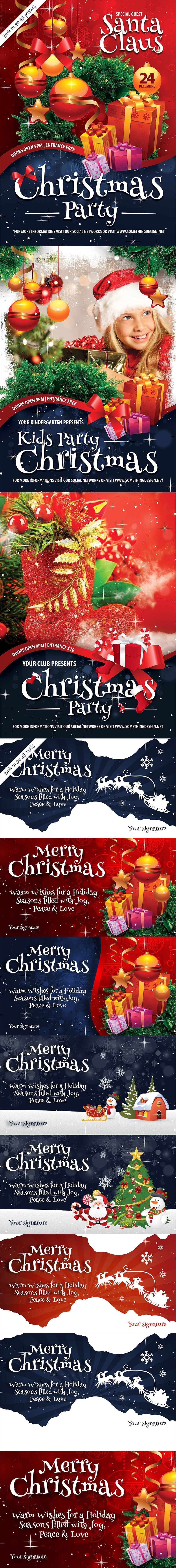 Christmas Pack Posters & Cards