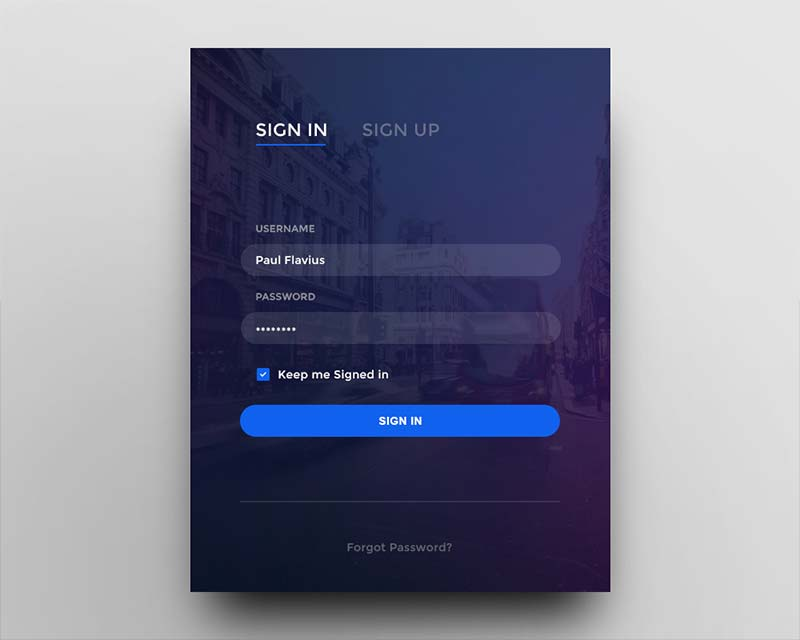Day 001 - Login Form