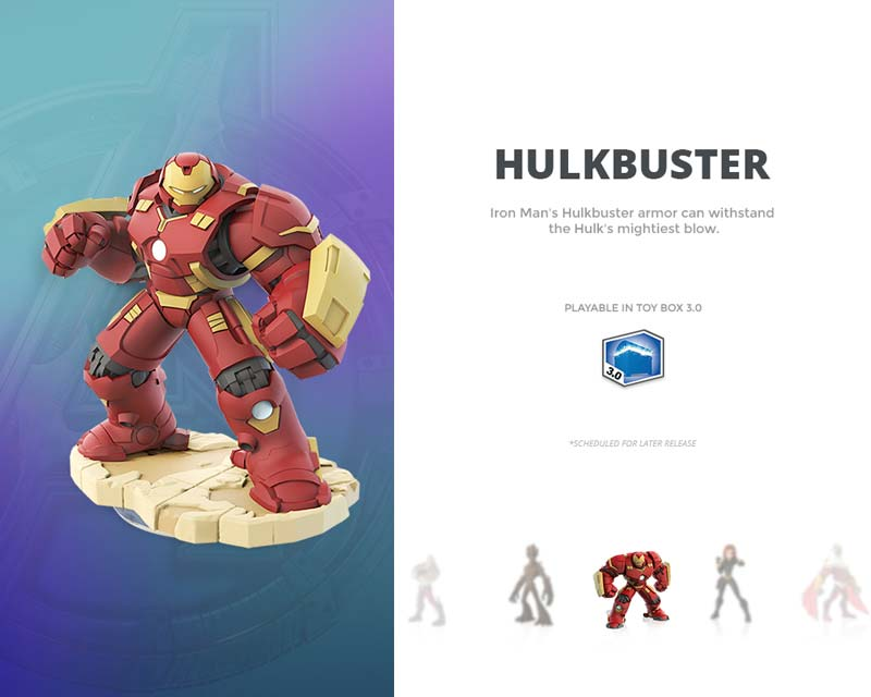 Day 027 - Hulkbuster Card