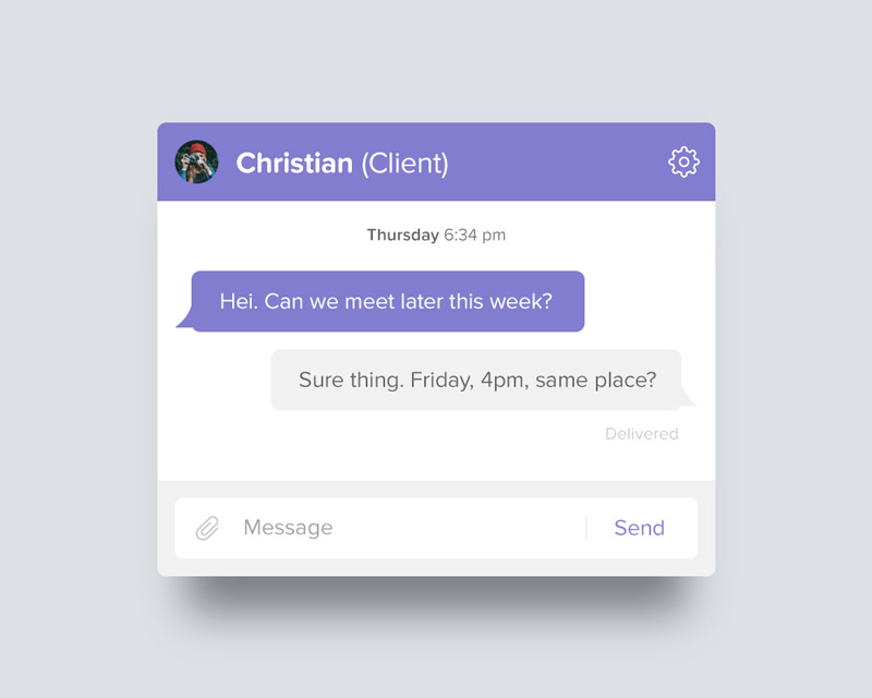 Day 053 - Chat UI