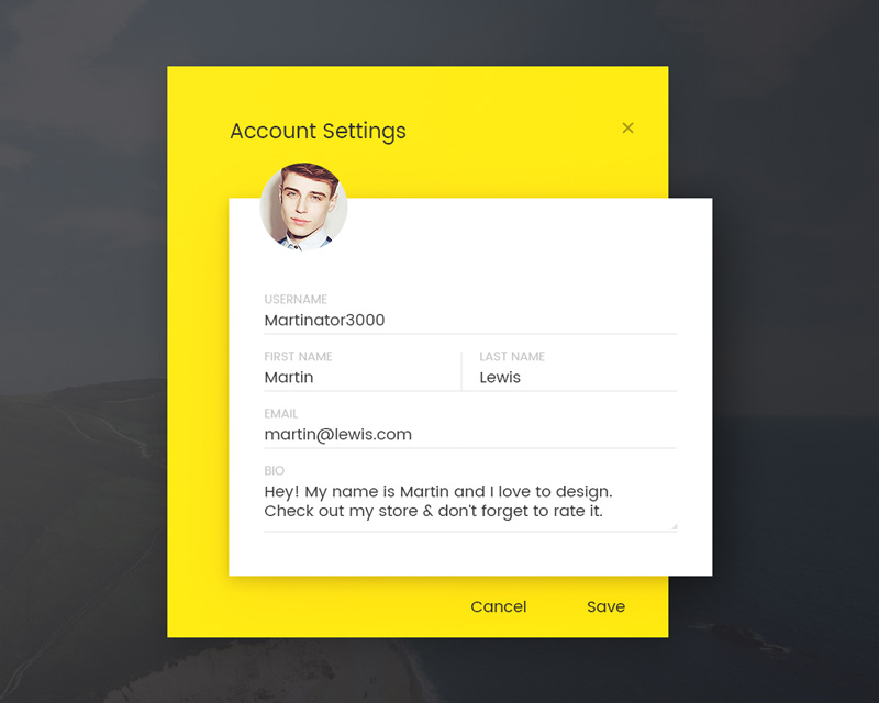Day 073 - Account Settings
