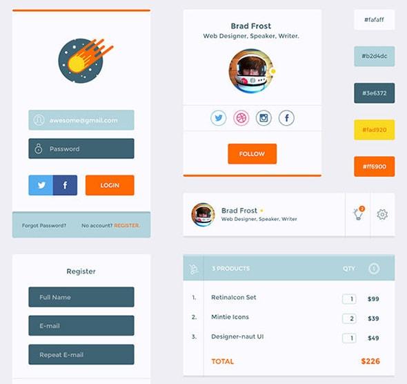 Designer-naut UI Kit