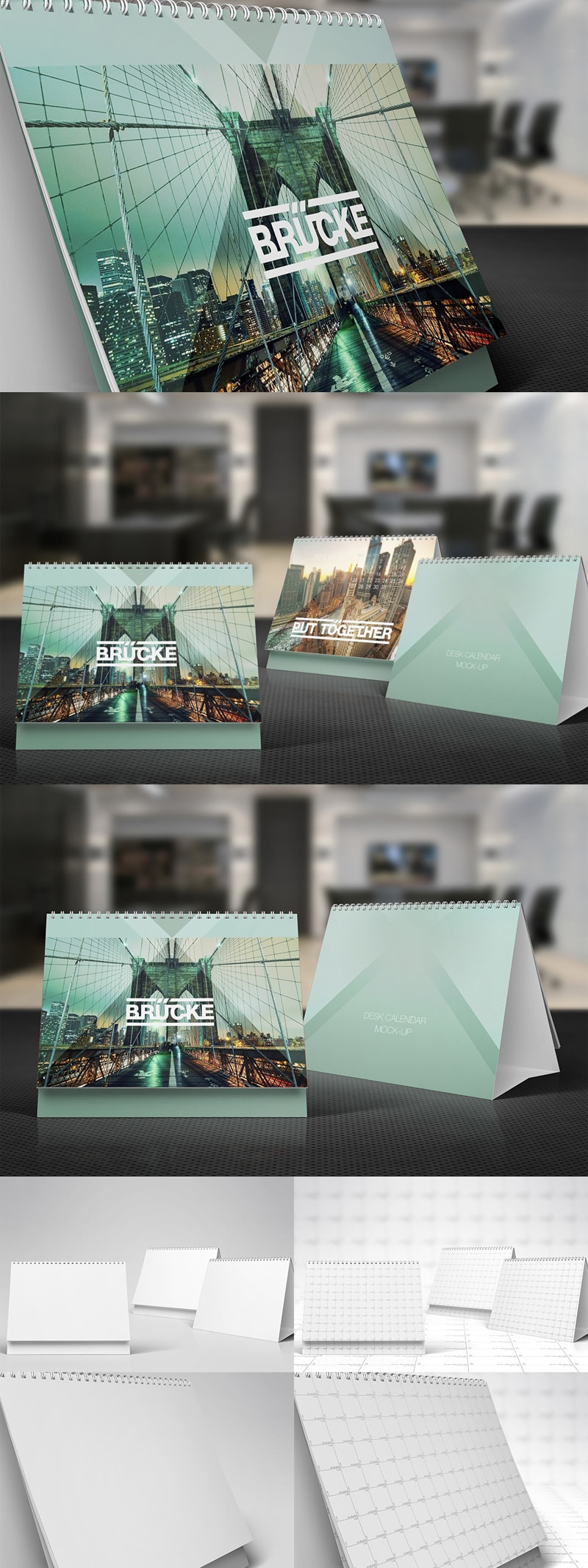 Desk Calendar Mock-Up vol.1