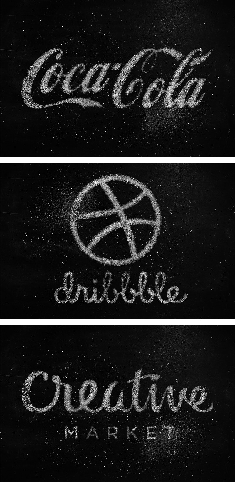 Dust & Chalk Logo Mock-up