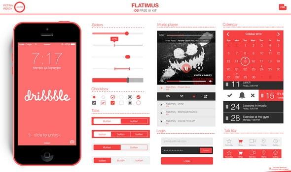 Flatimus UI Kit
