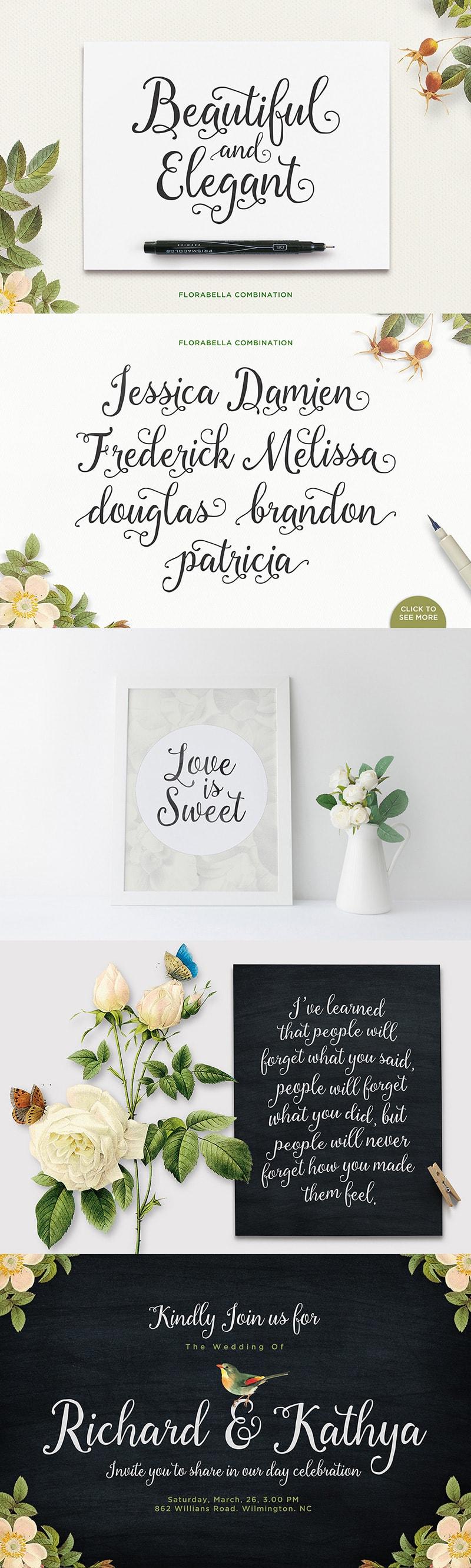 Florabella Script