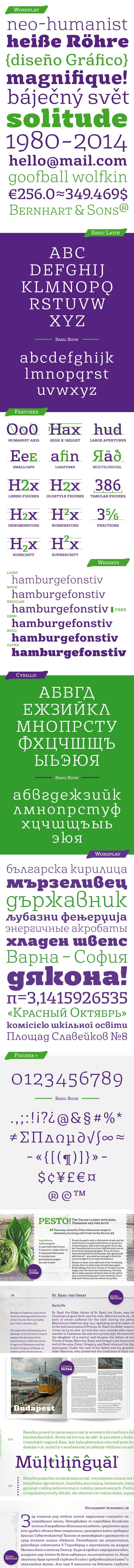 Font Basil