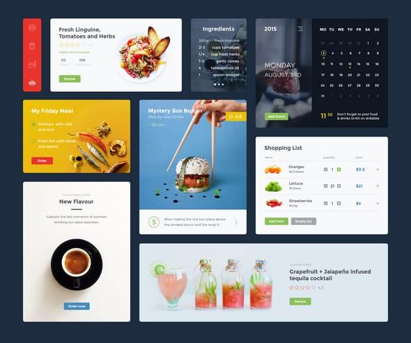 Food And Drinks UI Kit