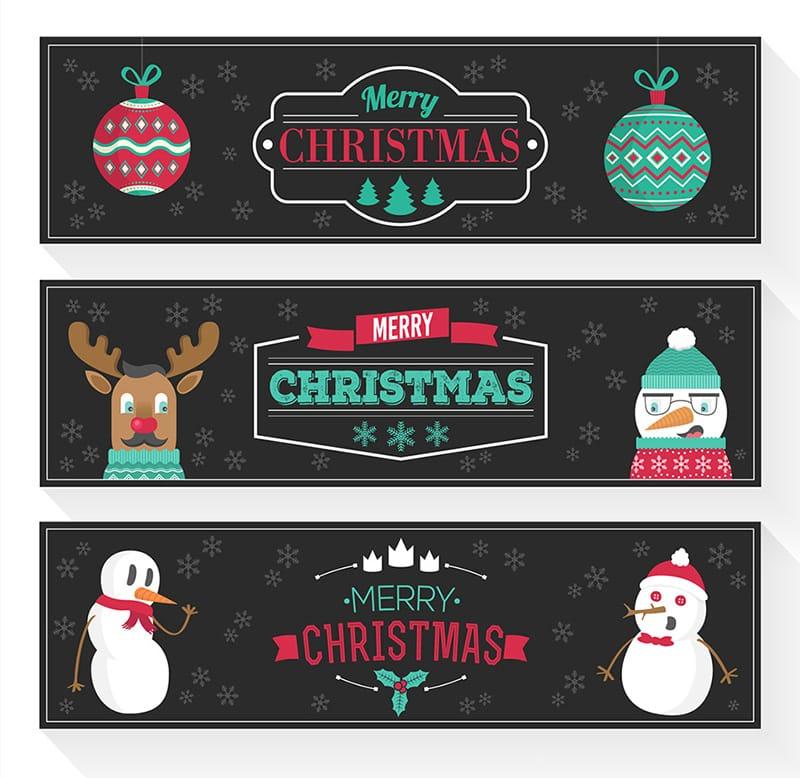 Funny Christmas Banners