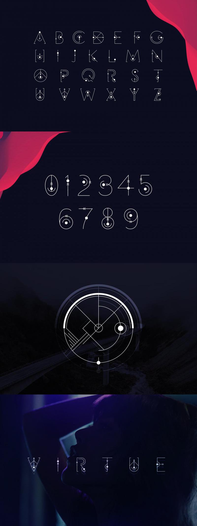Gravity | Display Font