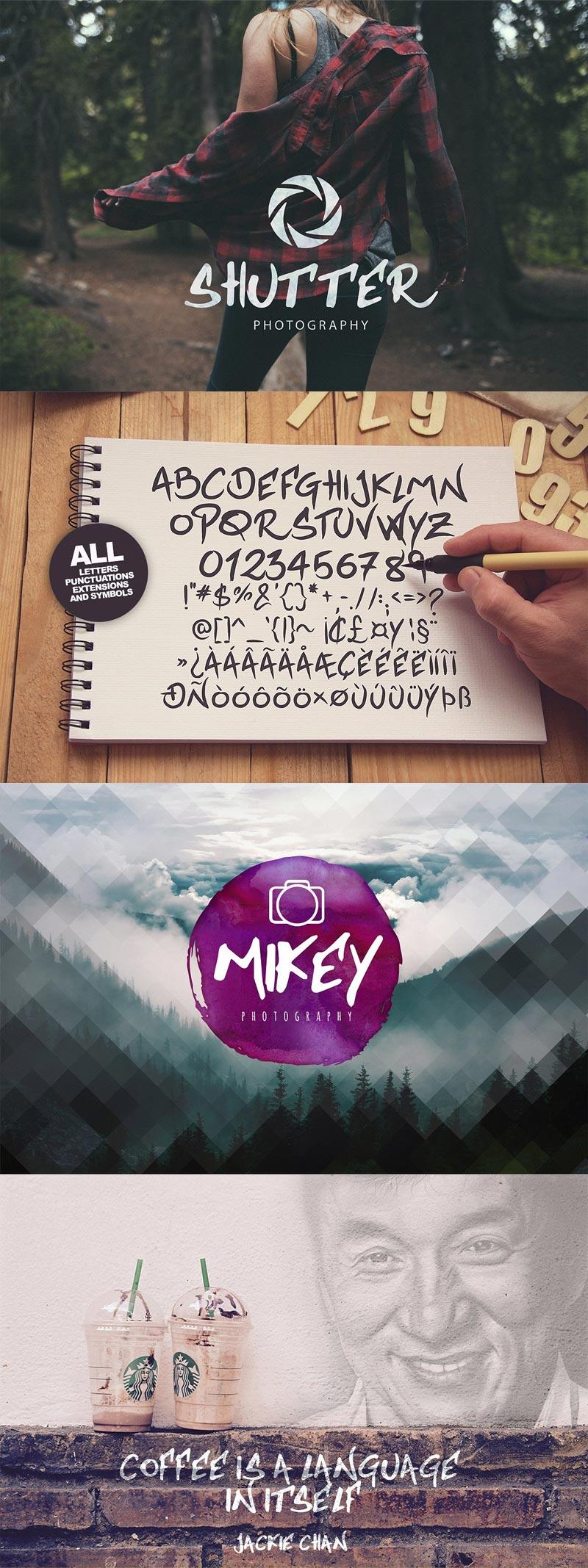 Jackfont Script Typeface
