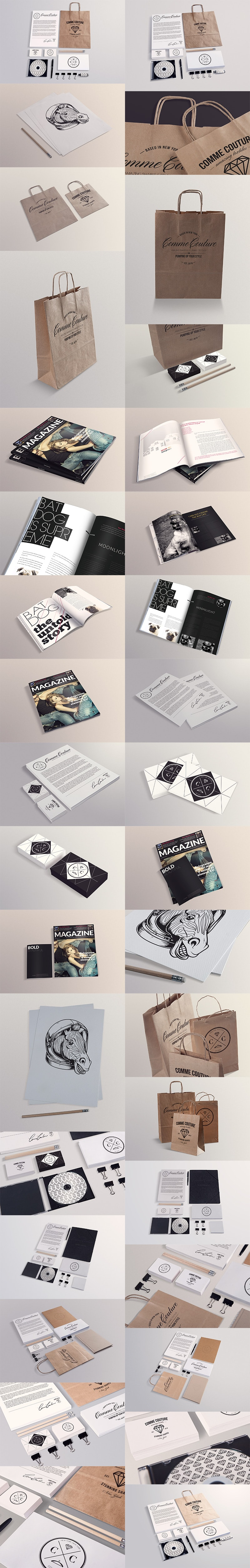 The Super Premium Photoshop Mockups Collection