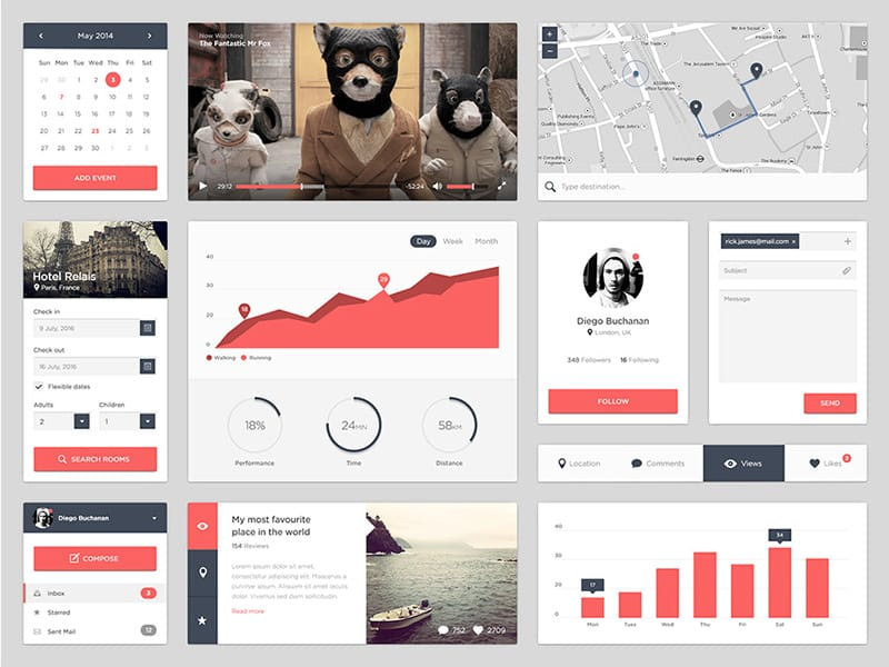 Mr Fox UI Kit