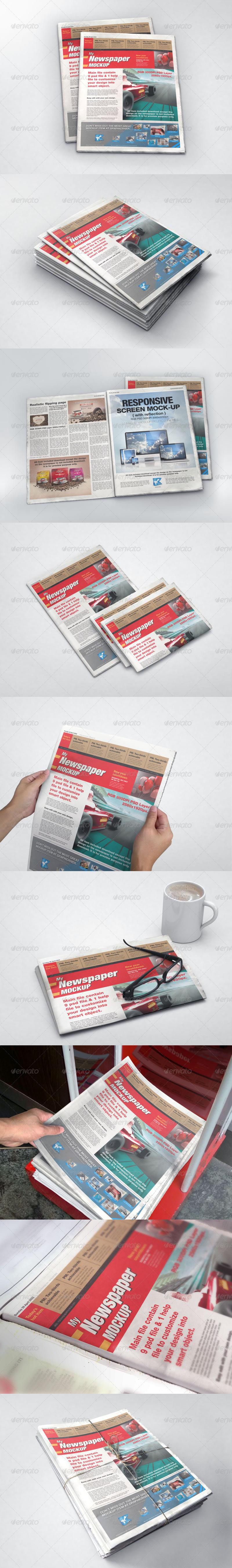MyNewspaper Mock-up