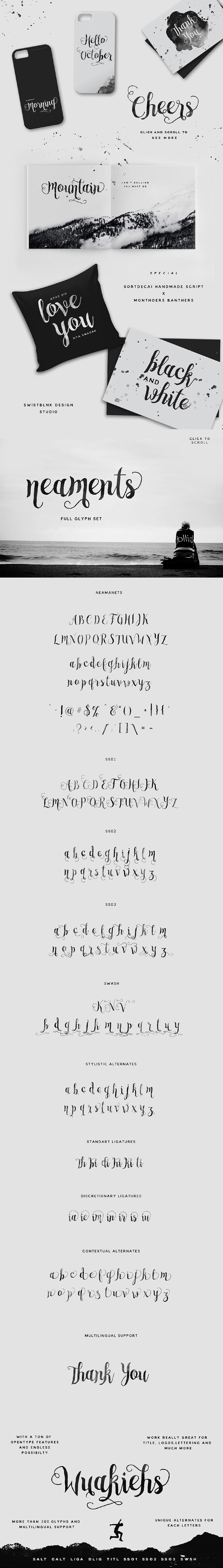 Neaments Typeface