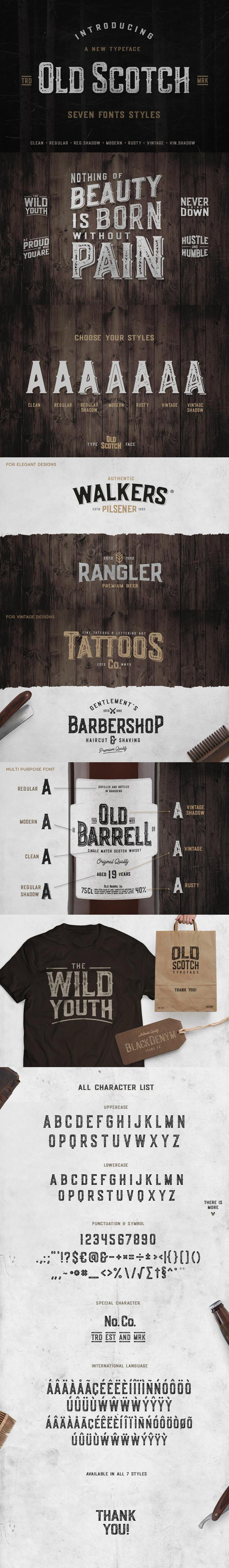 Old Scotch Typeface