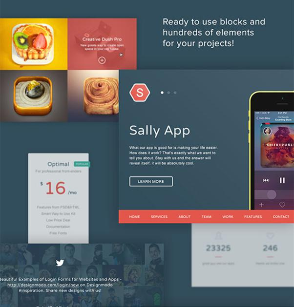 Sally Blocks UI Kit