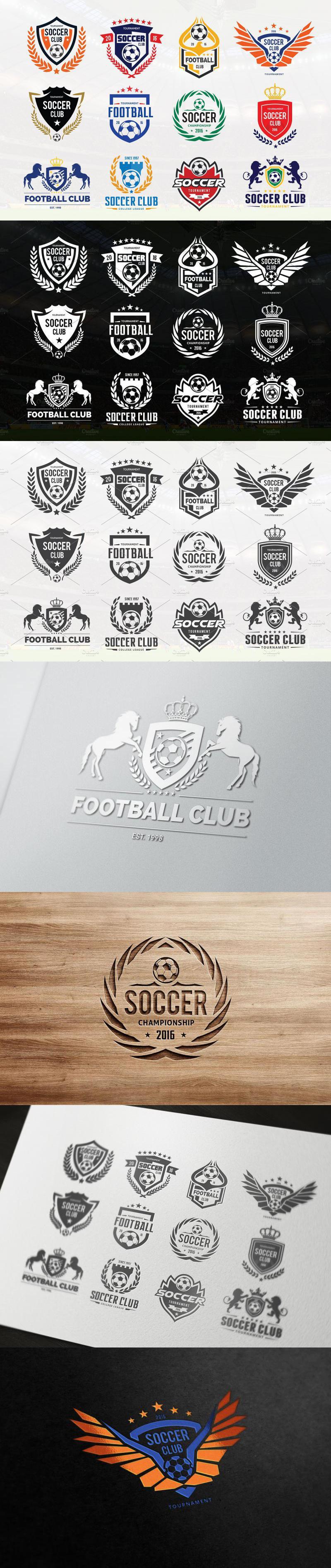 Soccer Logo Football Logo Collection