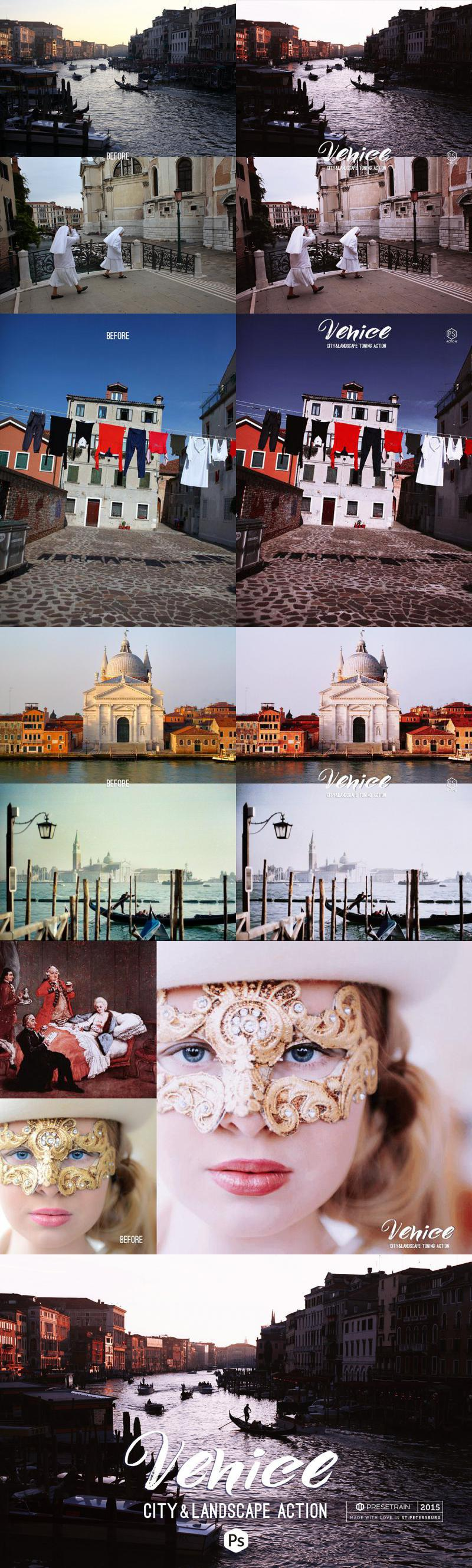 Venice Photoshop Action