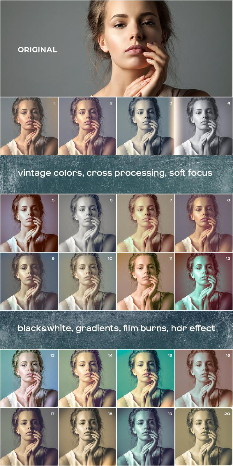 Vintage Photos Lightroom Presets Set