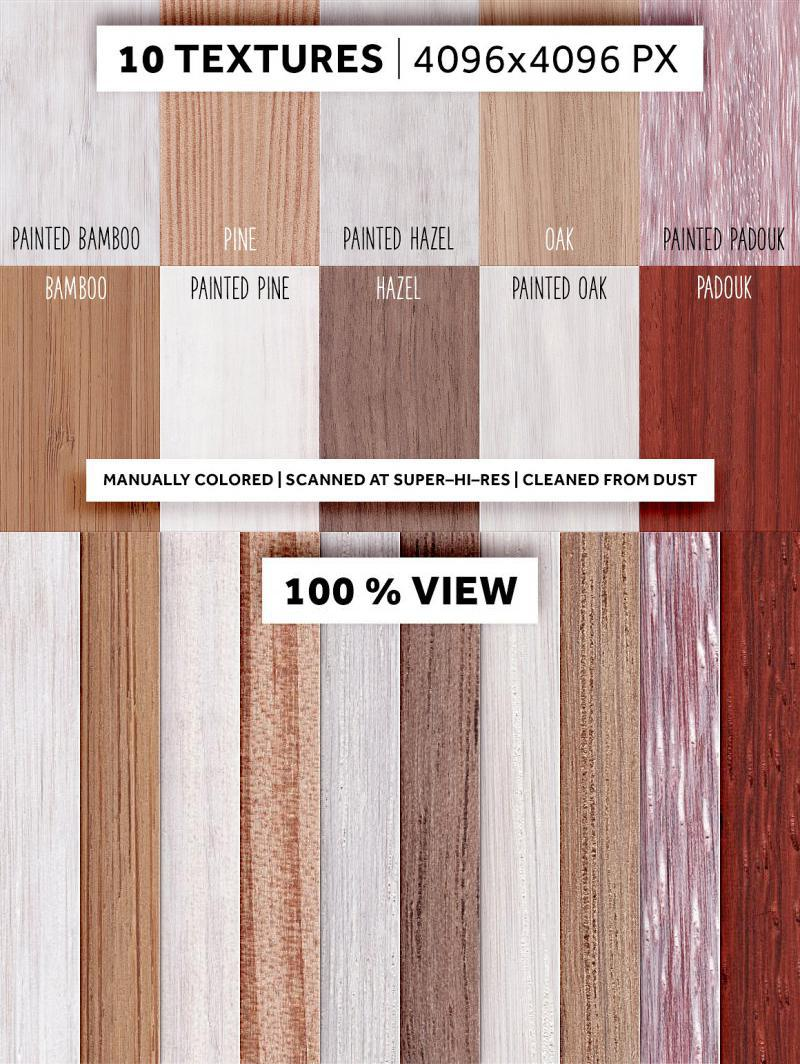 Wood And Paint | 10 Hires-Textures