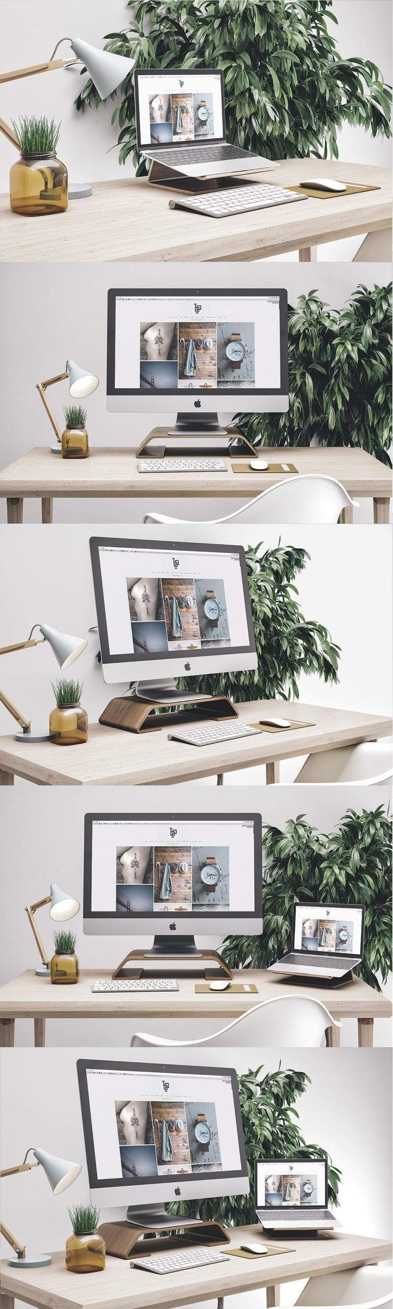 Workspace Mockup Set 5